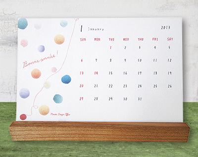 2013年デスクカレンダー